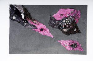 Sandcollage, Art, Kyri-Art, Kyri Schrader, Collagen mit Edelsteinen