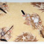 Sandcollage, Art, Kyri-Art, Kyri Schrader, Collagen mit Sand, Kunst mit Sand, Sandkunst
