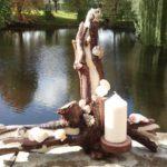 Holzobjekt, Abstrakte Kunst, Kyri Schrader